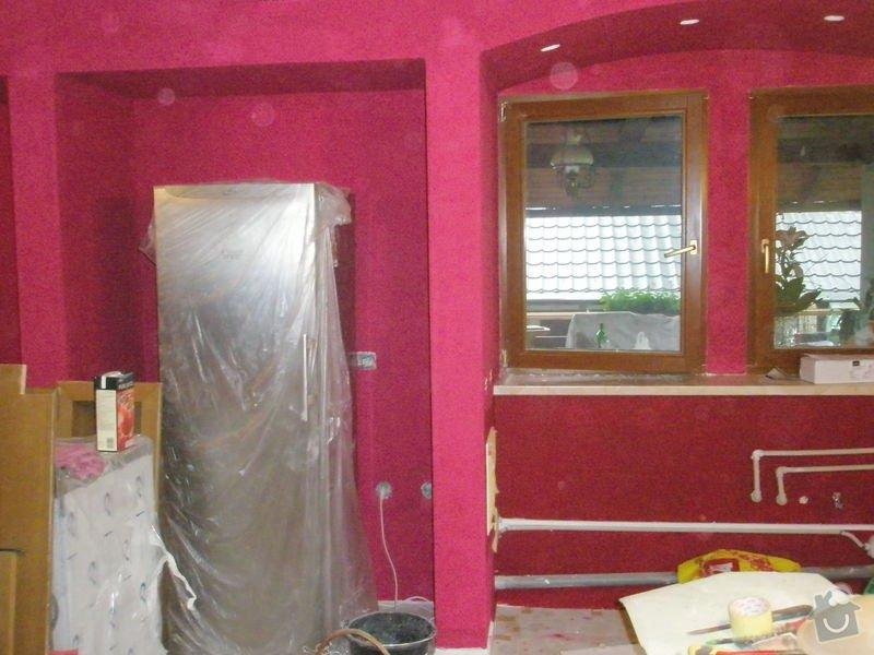 Rekonstrukce kuchyně, obyvacího pokoje a stavba prodejny: P5220303