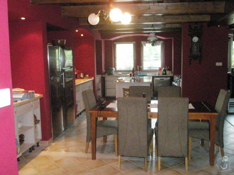 Rekonstrukce kuchyně, obyvacího pokoje a stavba prodejny: P6010326