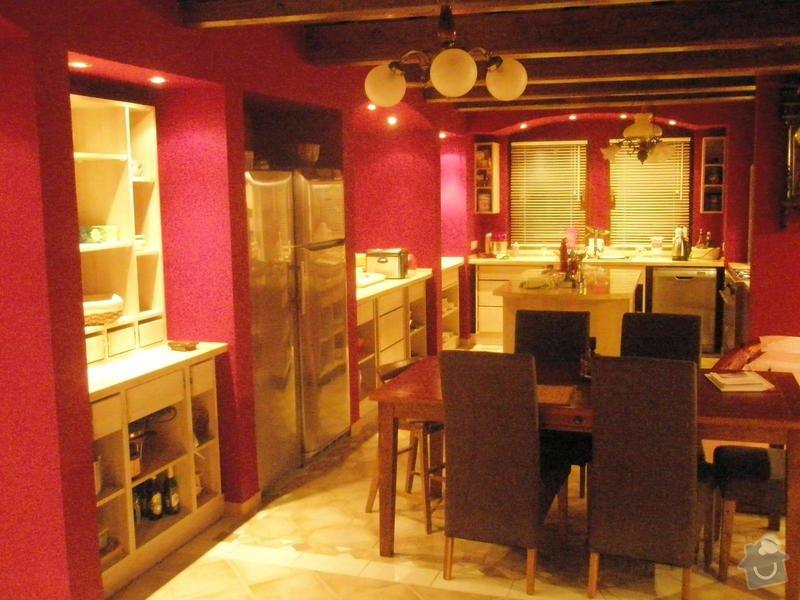 Rekonstrukce kuchyně, obyvacího pokoje a stavba prodejny: P8160549