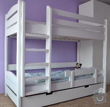 Patrová postel - palanda: palanda