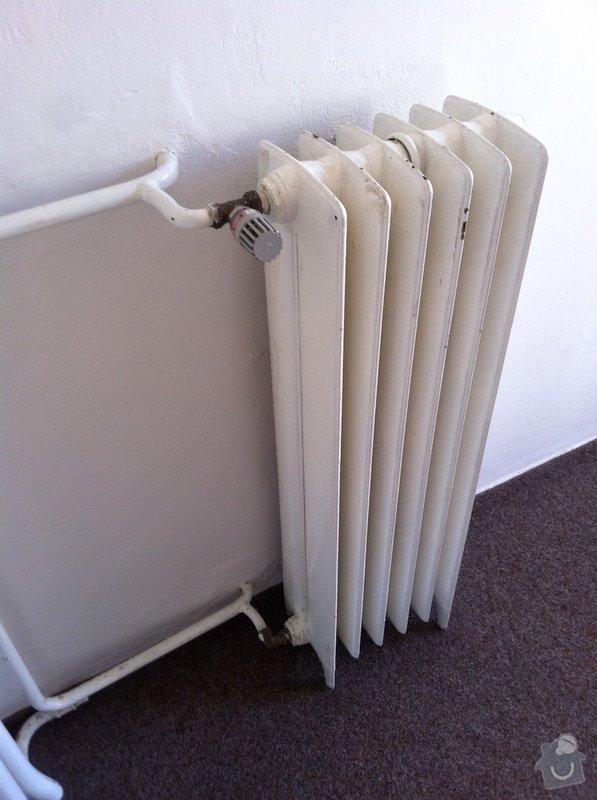Výměna litinového radiátoru za výkonnější: radiator-detail