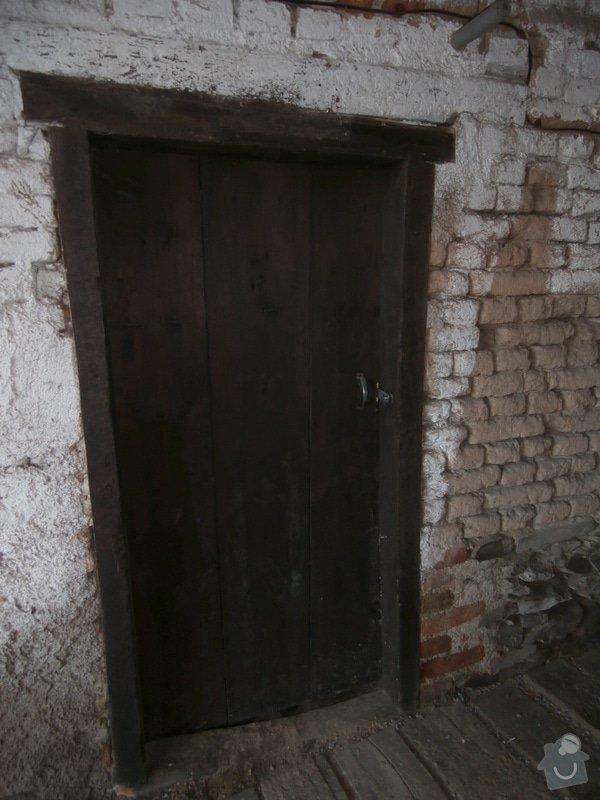Dveře dřevěné: 001