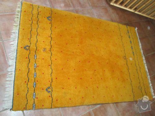 Vyčištění vlněného koberce: koberec