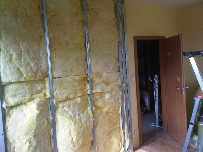 Velke Prilepy - Sadrokartonova pricka: IMG00458-20141012-1351
