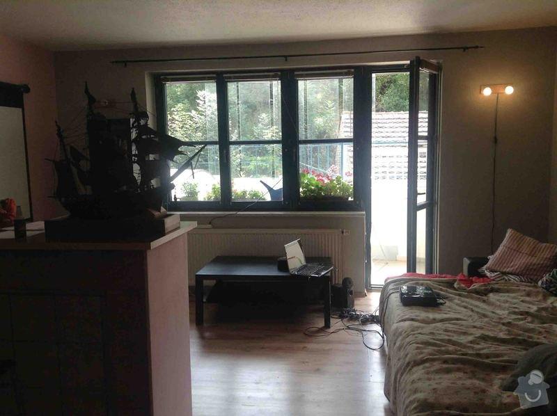 Rekonstrukce bytu: okna, dveře, podlahy, malířské práce, výměna světel: IMG_3392