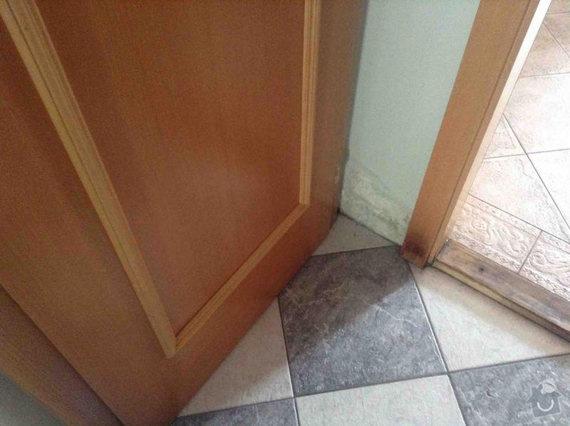 Rekonstrukce bytu: okna, dveře, podlahy, malířské práce, výměna světel: IMG_3404