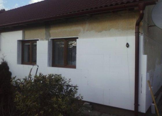 Montáž oken a zateplení fasády RD