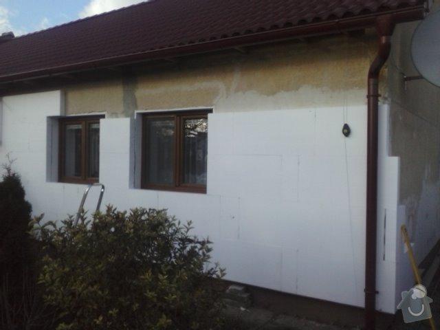 Montáž oken a zateplení fasády RD: CAM00743