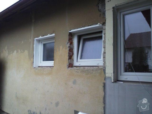 Montáž oken a zateplení fasády RD: CAM00755