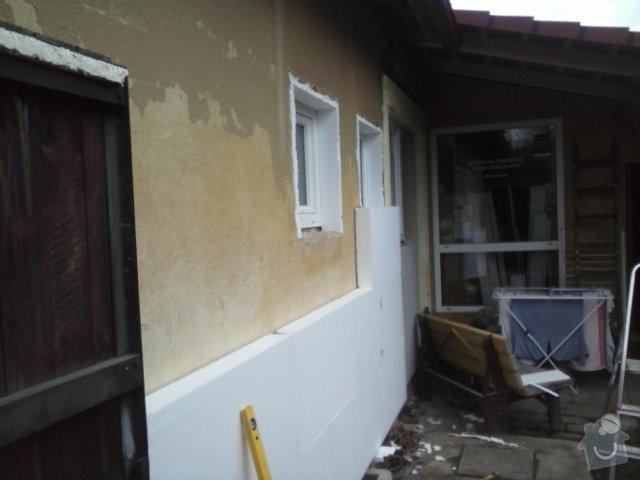 Montáž oken a zateplení fasády RD: CAM00757