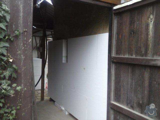 Montáž oken a zateplení fasády RD: CAM00759