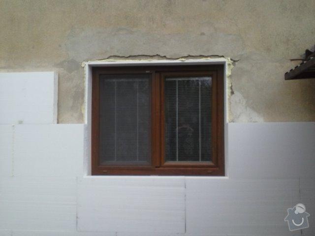 Montáž oken a zateplení fasády RD: CAM00760