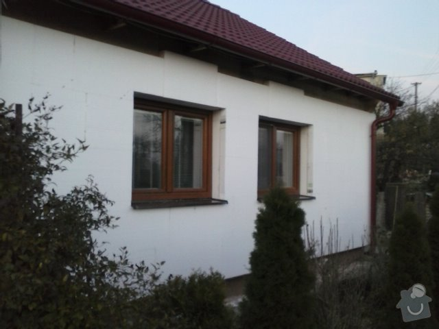 Montáž oken a zateplení fasády RD: CAM00761