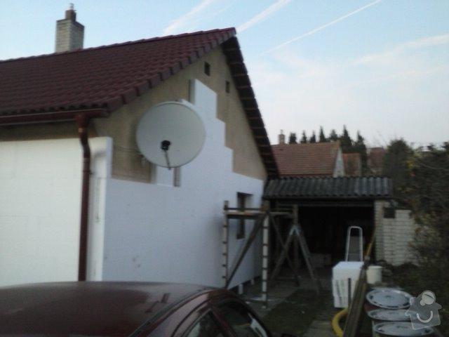 Montáž oken a zateplení fasády RD: CAM00762