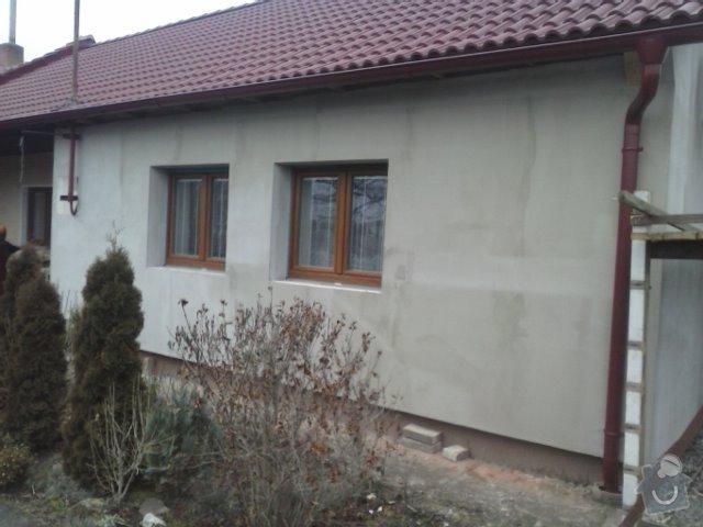 Montáž oken a zateplení fasády RD: CAM00812