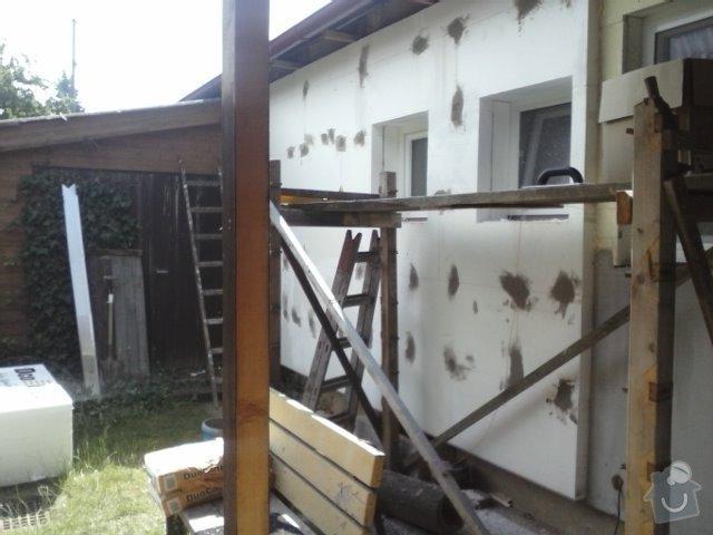Montáž oken a zateplení fasády RD: CAM01363