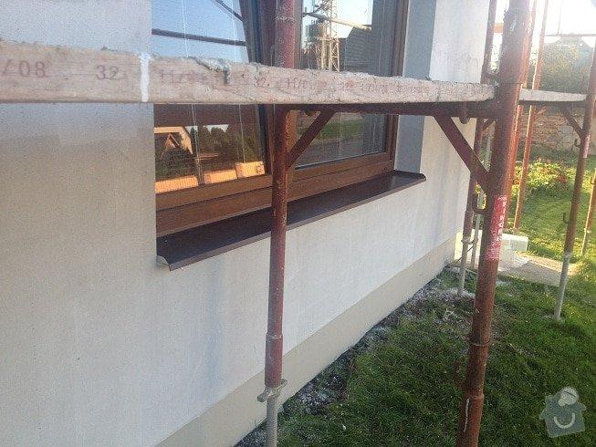 Klempir - oplechovani vnejsi parapet oken: IMG_1277a