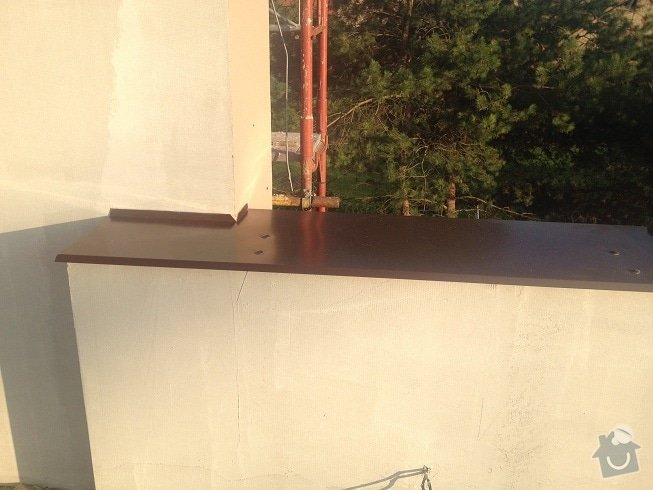 Klempir - oplechovani vnejsi parapet oken: IMG_1285a