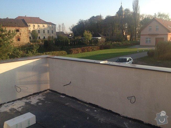 Klempir - oplechovani vnejsi parapet oken: IMG_1287a