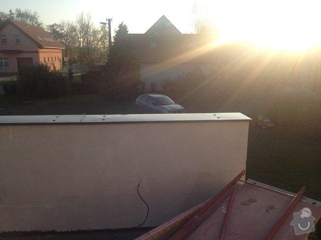 Klempir - oplechovani vnejsi parapet oken: IMG_1288a