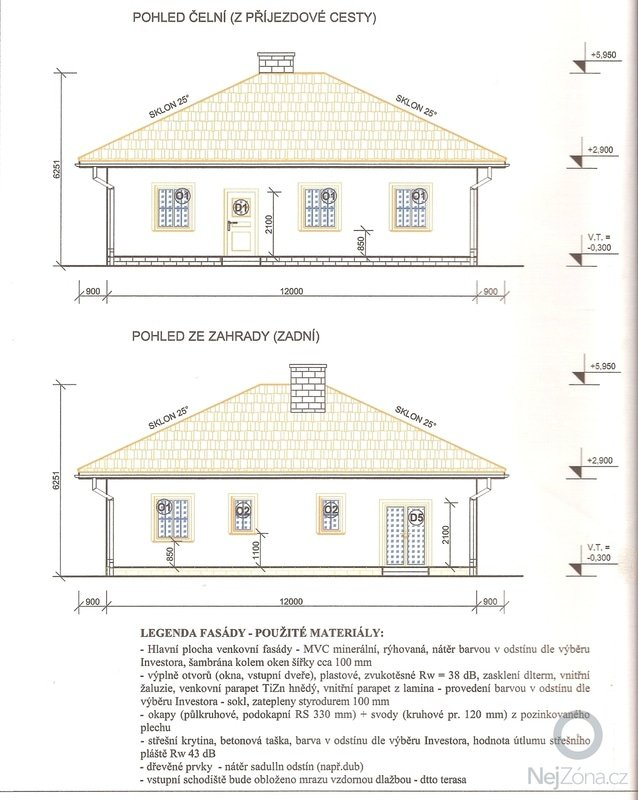 Hruba stavba Rodineho Domu: Pohledy_1