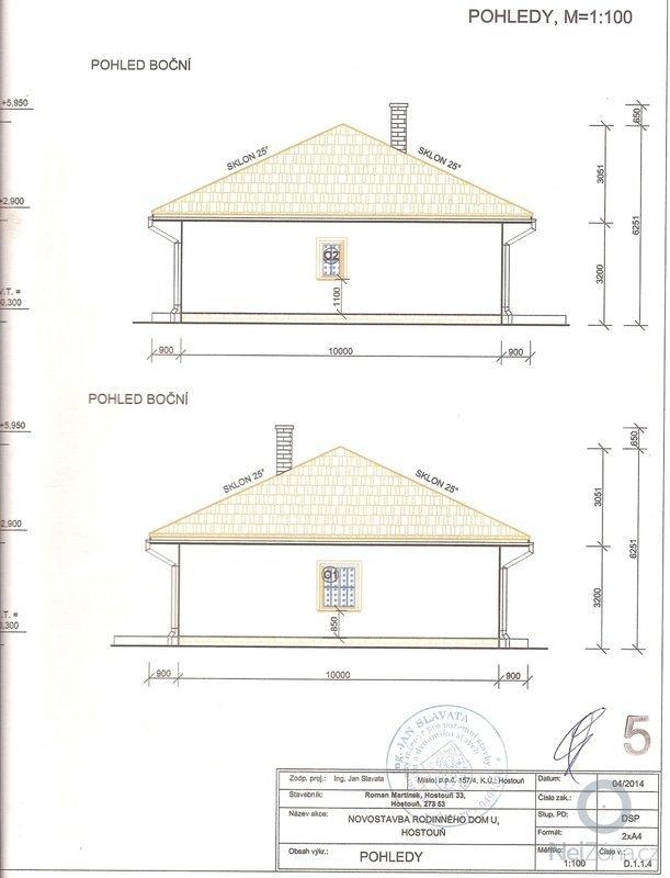 Hruba stavba Rodineho Domu: Pohledy_2