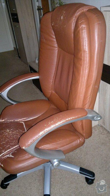 Přečalouněni kancelářske židle: 2014-10-30-434