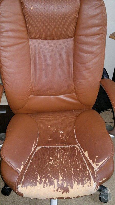 Přečalouněni kancelářske židle: 2014-10-30-435