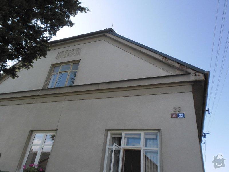 Oprava klempířských prvků RD v Hradci Králové: SAM_0838
