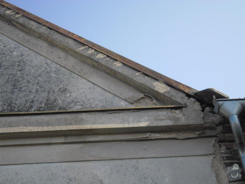 Oprava klempířských prvků RD v Hradci Králové: SAM_0837