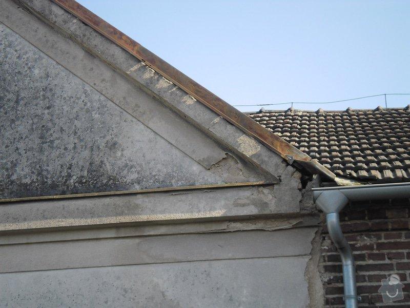 Oprava klempířských prvků RD v Hradci Králové: SAM_0835