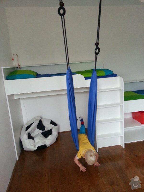 Dětský pokoj - postele pro tři děti: 20140901_141949