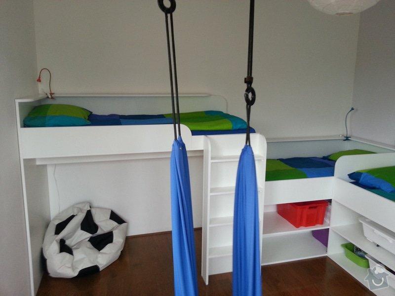 Dětský pokoj - postele pro tři děti: 20140901_141944