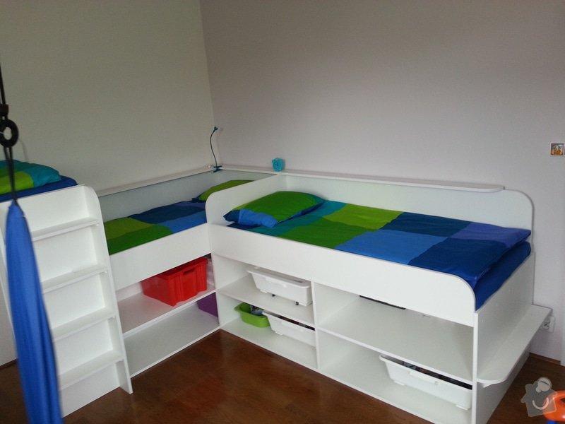 Dětský pokoj - postele pro tři děti: 20140901_141939