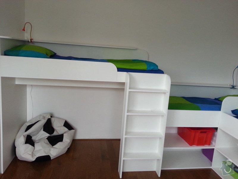 Dětský pokoj - postele pro tři děti: 20140901_141324