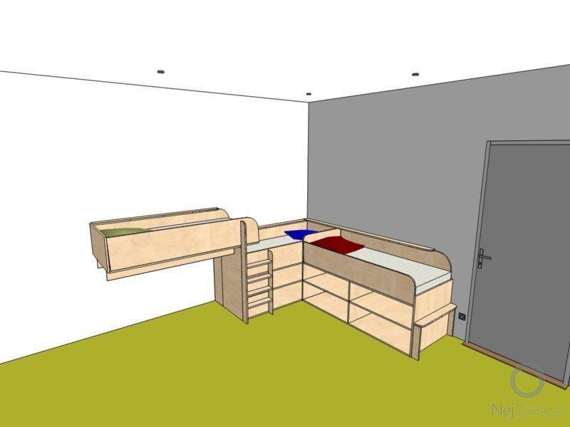 Dětský pokoj - postele pro tři děti: detsky_pokoj_3