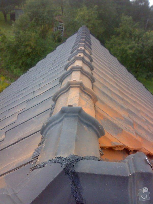 Dokončení střechy na RD: 22082014359