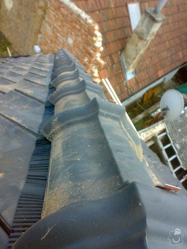 Dokončení střechy na RD: 22082014361