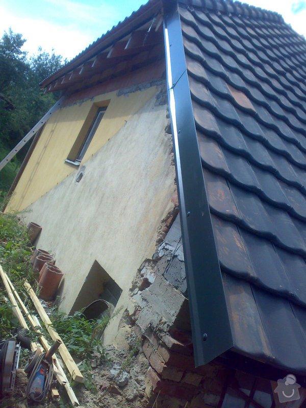 Dokončení střechy na RD: 22082014362