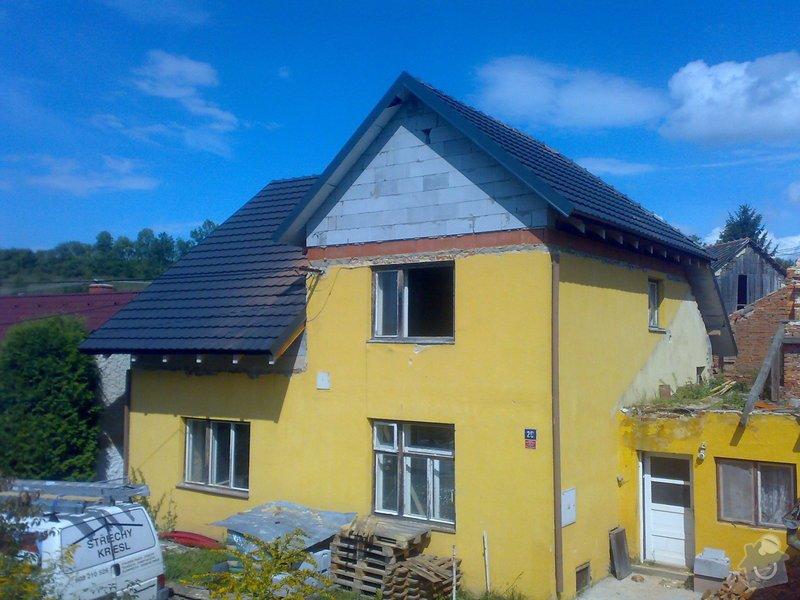 Dokončení střechy na RD: 22082014364