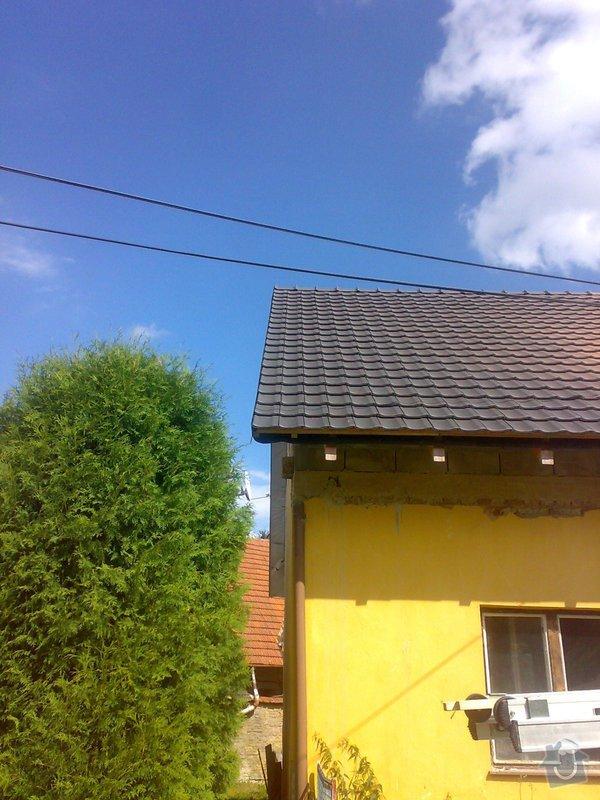 Dokončení střechy na RD: 22082014365