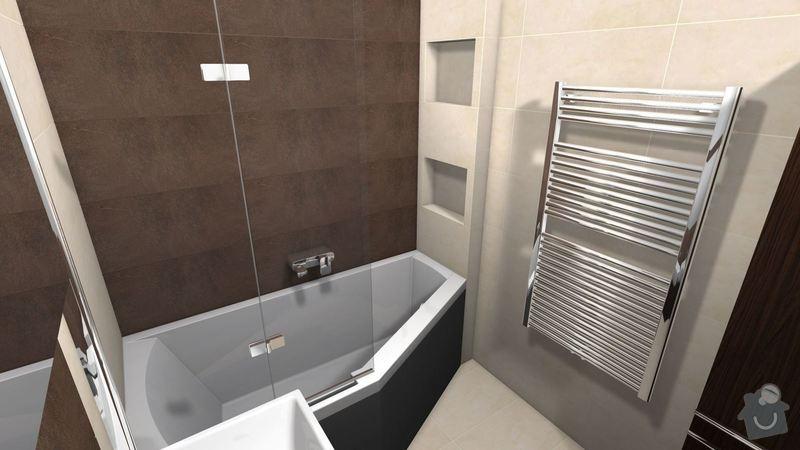 Rekonstrukce koupelny + částečně kuchyně: Vizualizace_Police_koupelna