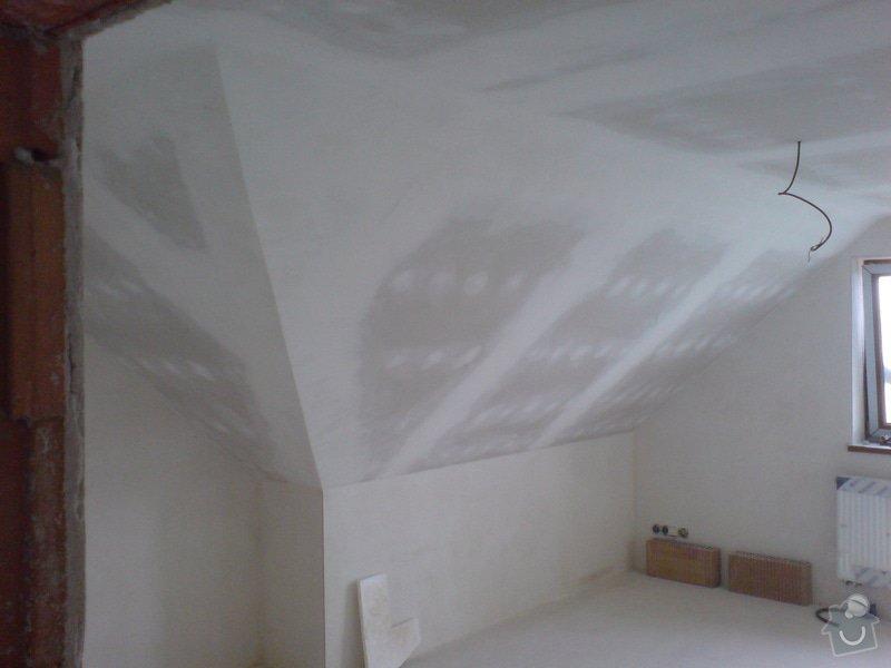 Montaz izolace a sadrokartonu v podkrovi RD: DSC00096