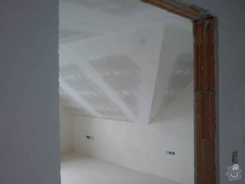 Montaz izolace a sadrokartonu v podkrovi RD: DSC00097