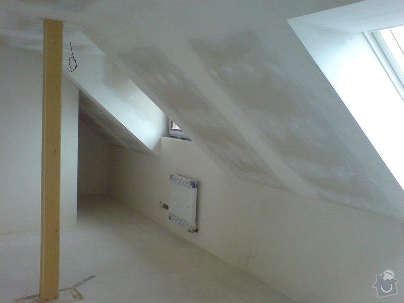 Montaz izolace a sadrokartonu v podkrovi RD: DSC00098