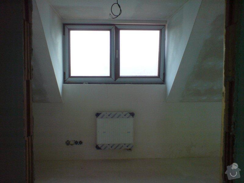 Montaz izolace a sadrokartonu v podkrovi RD: DSC00099