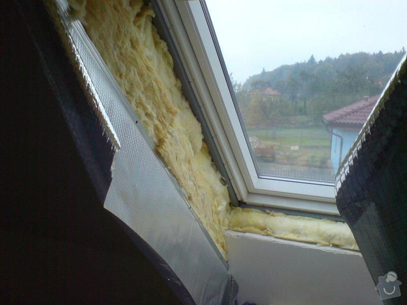 Montaz izolace a sadrokartonu v podkrovi RD: DSC00093