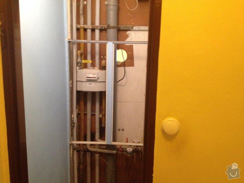Rekonstrukce bytového jádra a kuchyně: 1