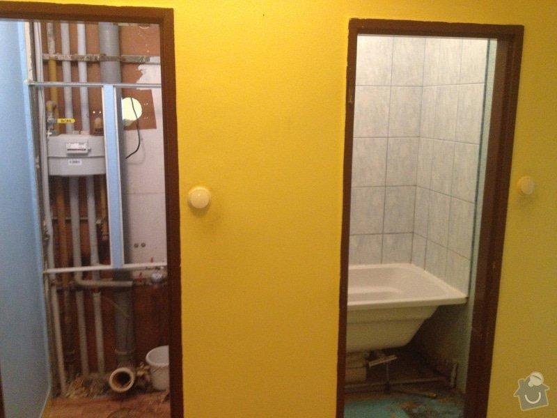 Rekonstrukce bytového jádra a kuchyně: 4