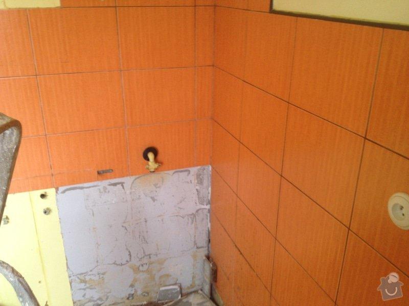 Rekonstrukce bytového jádra a kuchyně: 14
